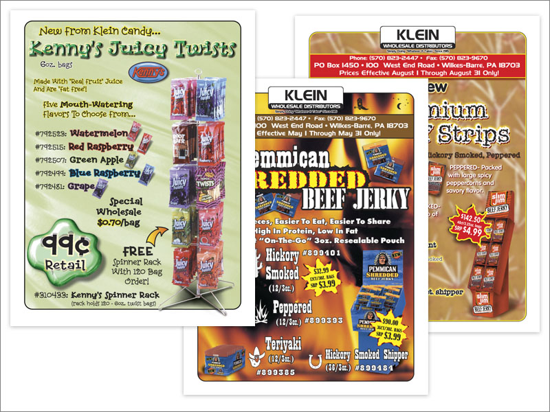 Klein foods 1 page sales flyers